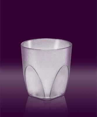 Whisky Becher transparent mit Eichstrich 2 cl SAN