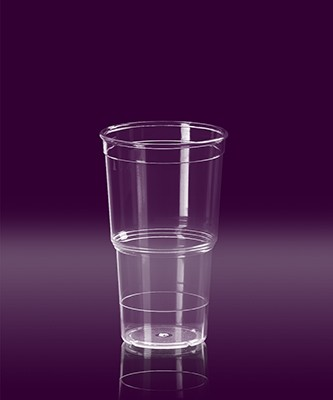 Eco Cup 0,4 L PC glasklar