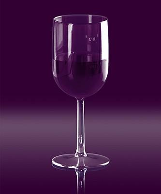 Weinglas 1/8 l & 1/4l SAN