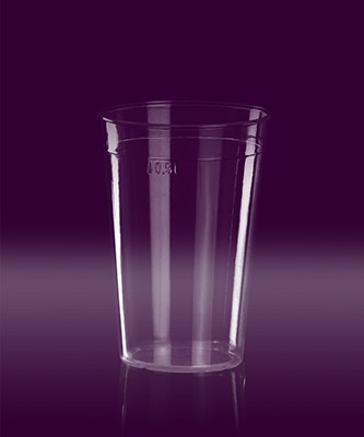 Eventglas 0,5l PC glasklar