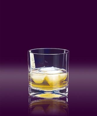 Whisky-Glas SAN ca. 0,2 L