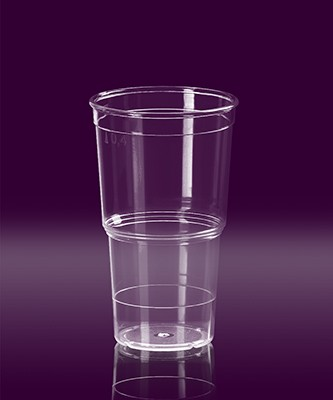 Eco Cup 0,25 L PC glasklar